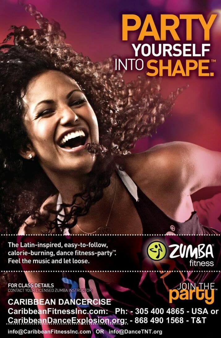 Caribbean DancerSize & Zumba Fitness